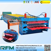 Máquina de formação de rolagem de camadas duplas de FX