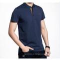 Stickerei Logo Fashion Custom Baumwolle ausgestattet Männer Polo T-Shirt