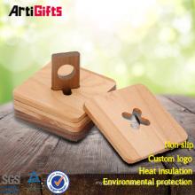 Prácticos de costa apoyados de madera modernos de la familia barata de la fábrica de China