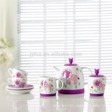 Boîte de couleur emballant des ensembles de thé italie
