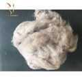100% Pure Dehaired Merino Sheep Wool White Cashmere Fiber