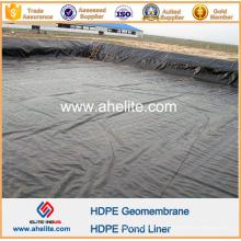 Géomembrane de HDPE pour des lagunes de traitement de Wasterwater