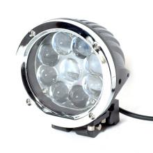 10 feixe do brilho alto do diodo emissor de luz / alojamento de alumínio do poder superior 45w para a luz do trabalho