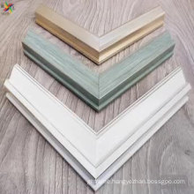 Polystyrene eco-friendly material frame moulding for picture and mirror