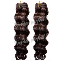 for Hairdressing Salon 100 Hand Tied Human Hair Wefts/Extension/ (GP-IBW)