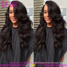 Shandong Qingdao wholesale cheap european hair full lace wig high grade virgin european hair wig