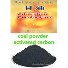 Agent décolorant d'ester de colophane de glycérol