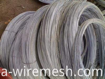 Hot Dipped Galvanized Steel Oval Wire (1)