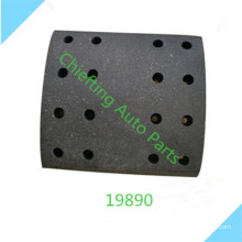High performance 19891 683025 for DAF heavy truck brake lining