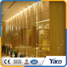 New premium salon decorating metal curtain