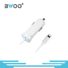 Mini Colorful Universal Car Charger with Cable for All Mobile