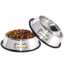 Tigelas para cães de aço inoxidável de 32 oz