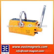 Lifter magnético permanente feito na corrente / são a facilidade de levantamento a mais ideal para fábricas, docas, armazéns / fornecedor de China