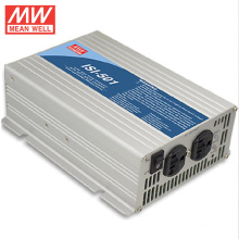 New and original MEANWELL 24VDC input micro solar inverter 220VAC 500W ISI-501