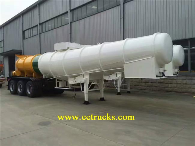 21 CBM Sulphuric Acid Tank Trailers
