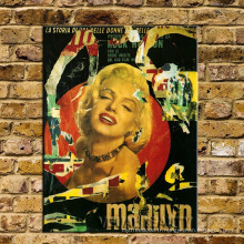 Décoration Vintage Marilyn Monroe