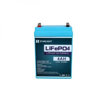 Batería de plomo-ácido reemplazada por batería de 6.4V 4AH LiFePO4