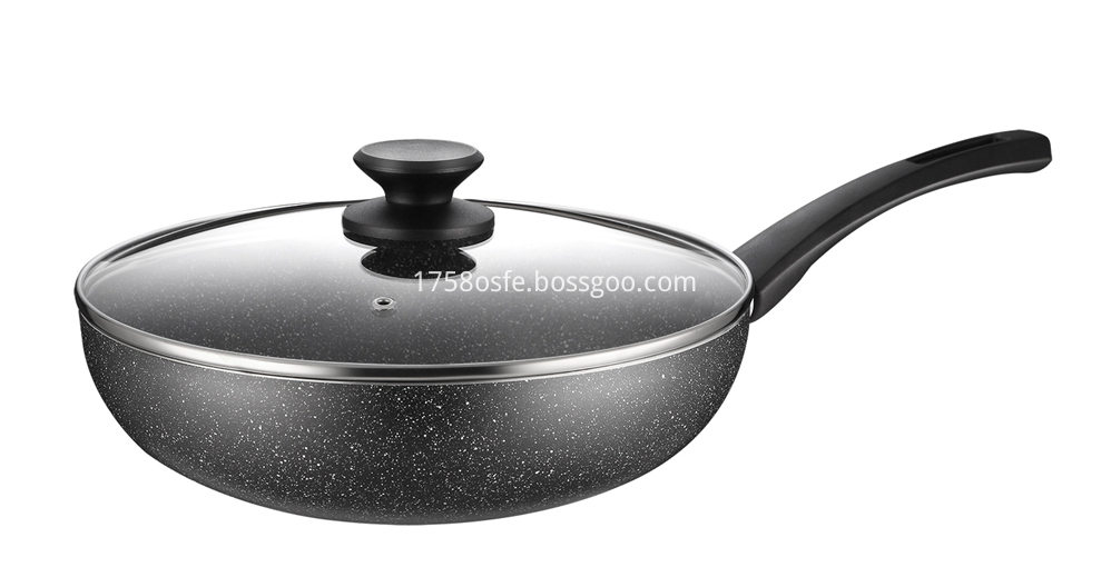 Marble Coating Cookware 1