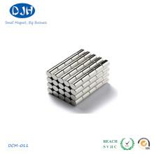 Imán permanente del cilindro del boro del neodimio del hierro