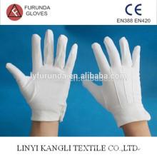 Einheitliche Handschuhe, Paradehandschuh, 100% weißer Baumwollhandschuh