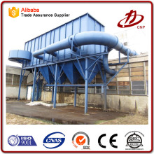 Stainless steel high flow rate pulse-jet filter bag housing