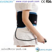 Équipement médical à la maison / enveloppement instantané de bande adhésive froide avec des membres de veau de capsule de pression