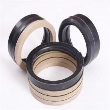 NBR/FPM Material Vee Fibre Hydraulic Oil Seal for Piston Rod