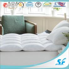 Colcha de colchón de plumas de ganso de 15% con alta calidad