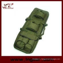 40-дюймовый двойной стрелковой случае пистолет мешок 1 метр боевой пистолет сумка для переноски