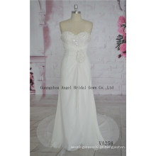 Vestido De Noiva Chiffon Bead, Vestido De Noiva Para O Casamento