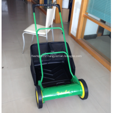 """16""""Hand Push Reel Lawn Mower with Grass box"""