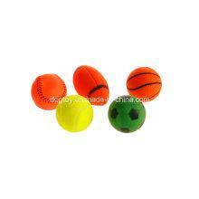 Brinquedos baratos para atacado de bolas de vinil, brinquedos para animais de estimação
