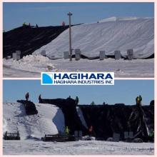 Revestimento leve e especial Folha de lona Snow-Tex com isolamento térmico pela Hagihara Industries. Feito no Japão (folha de plástico)