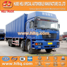 SHACMAN M3000 8x4 290hp Weichai power refrigerated cold room van truck