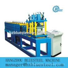 Machine de formage de tôle d'obturation à rouleau en acier Galavinized en mousse PU en PU automatique, rouleau de porte EPS