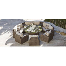 Patio Wicker Outdoor Rattan Sofa Set Garden Furniture