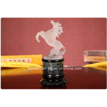 Elegant Crystal Animal Figurine Horse Craft for Gift