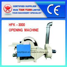 Máquina quente da abertura da fibra do Wadding do desperdício da Quente-Venda personalizada