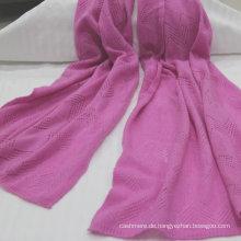 Schöne Damen frei Stil reine Kaschmir stricken Schal reine mongolische Kaschmir Schal Kaschmir Schal Fabrikverkauf (akzeptieren Sie benutzerdefinierte)