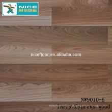 NWseries Larry cipreste madeira Parquet piso de madeira HDF núcleo Parquet Flooring