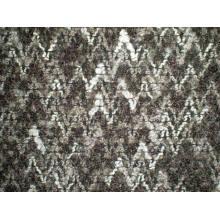 Tela Jacquard de lana para abrigo de invierno (UW303)