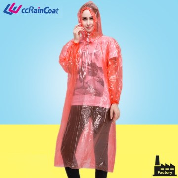 Plastic material raincoat football raincoats type and disposable