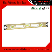 aluminium spirit level gauge frame type spirit level