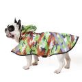Poncho imperméable de manteau de pluie de chien de compagnie d'unité centrale