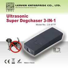 портативный батарейках портативный высокое качество ультразвуковой собака Chaser и кошка отпугиватель