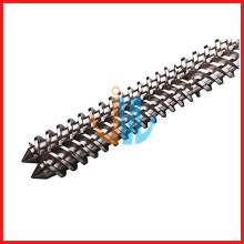 Extrusora profesional de doble husillo paralelo para maquinaria plástica