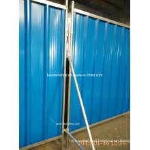 2000X2160mm Temporary Steel Hoarding Panels
