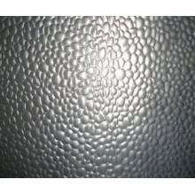 Hoja de aluminio en relieve