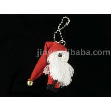 Poupée Voodoo Doll Poupée Keychain Père Noël