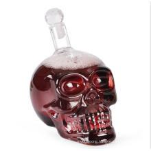 1000ml Skull Shape High Borosilicate Glass Wine Bottle Dispenser